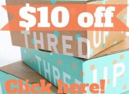 thredUP - Get $10 off!